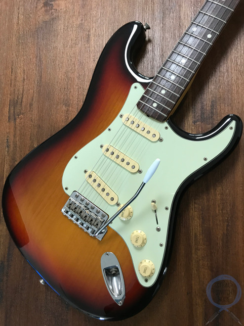 Fender Stratocaster, '62, Sunburst, 1995, USA Texas Special Pickups