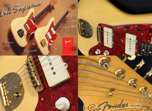 Fender Jazzmaster, LIMITED EDITION '62, Blonde, (#10/100), 1994, Hard Case