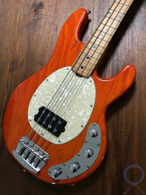 Ernie Ball, Music Man, Sting Ray Bass, Translucent Orange, USA, 1999