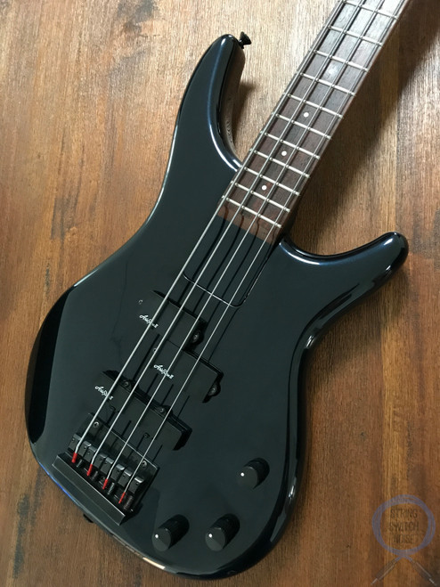 Aria Pro II, P/J Bass, ARB-50, Argent Series, Blue/Black