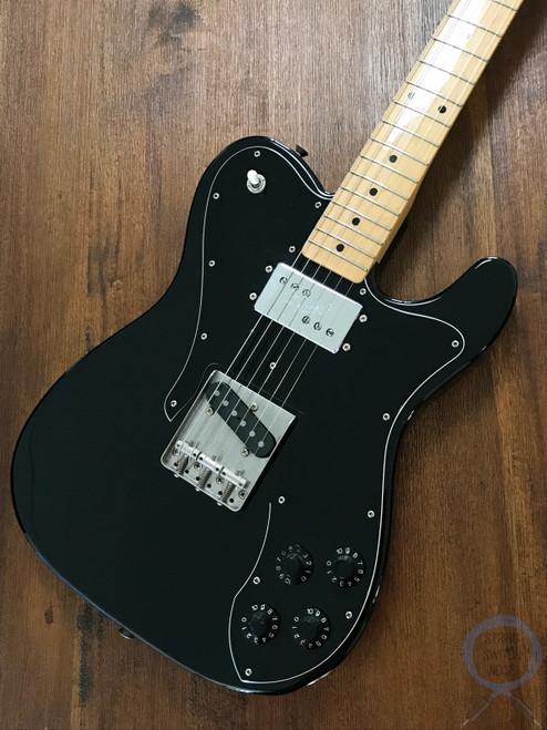 Fender Telecaster Custom, '72, Black on Black, 2008, Ash Body