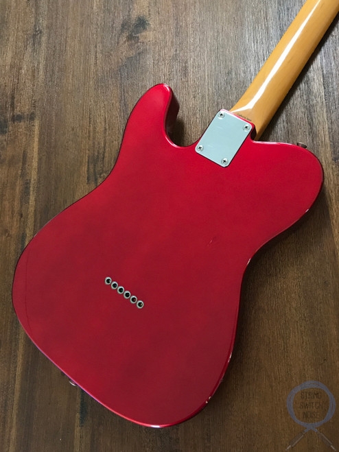 Fender Telecaster, '62, Candy Apple Red, 1997, USA Vintage PUPS