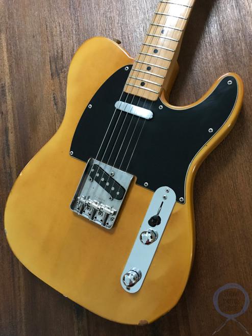 Fender Telecaster, '72, Blonde, Ashwood, 1984 vintage