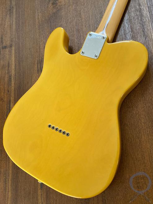 Fender Telecaster, '72, Butterscotch Blonde, Ashwood, 1990
