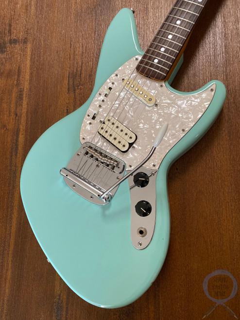 Fender Jagstang, Sonic Blue, 1995, BIG UPGRADES, Kurt Cobain, Nirvana