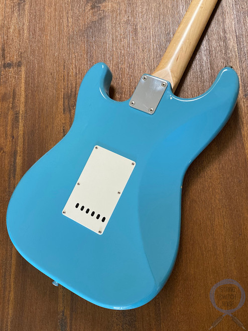 Fender Stratocaster, California Blue, 1993, Hard to Find Finish (2)