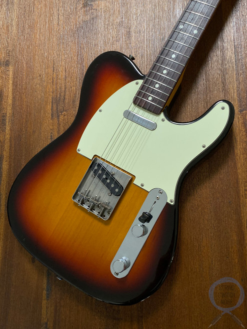 Fender Telecaster, '62, 3 Tone Sunburst, 2002, USA Vintage PUPS