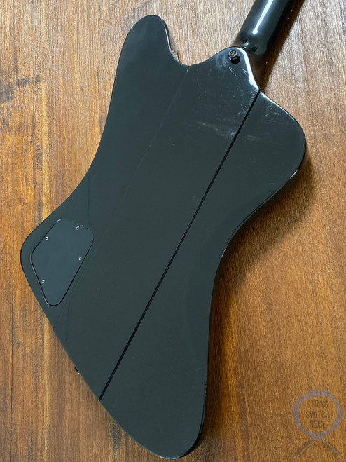 Gibson Thunderbird IV Bass, Ebony, 2013, USA, OHSC, BABICZ Bridge Upgrade
