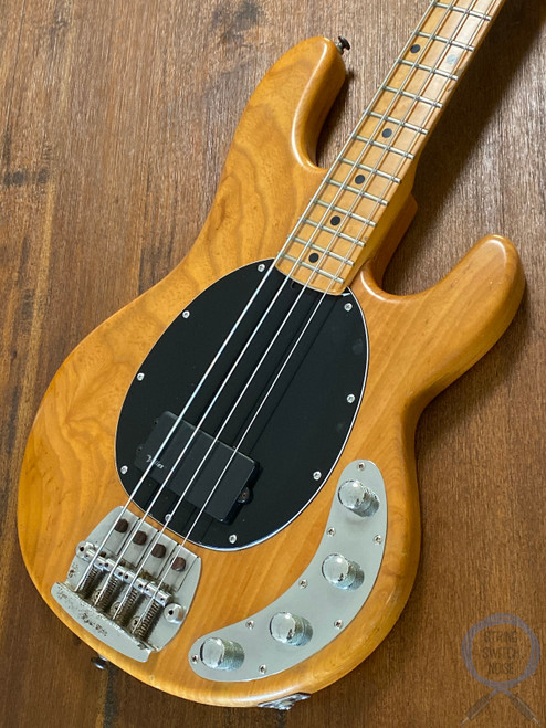 Ernie Ball, Music Man, Sting Ray Bass,1989, PASSIVE, Natural, OHSC