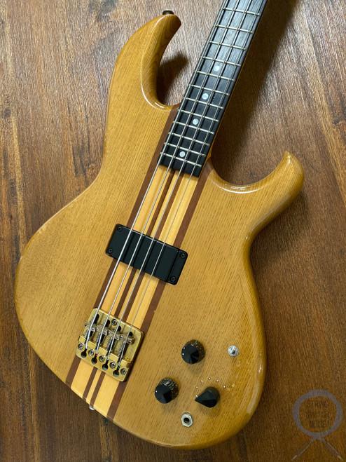 Aria Pro II, SB-1000 Bass --RARE-- OAK, 1980, OHSC, 40 year vintage