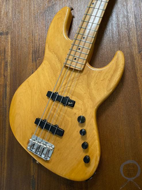 Fender Jazz Bass, Natural Ashwood, 1988, RARE, Active