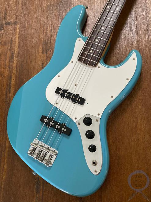 Fender Jazz Bass, California Blue, 1993, Exc Cond, Rare Colour
