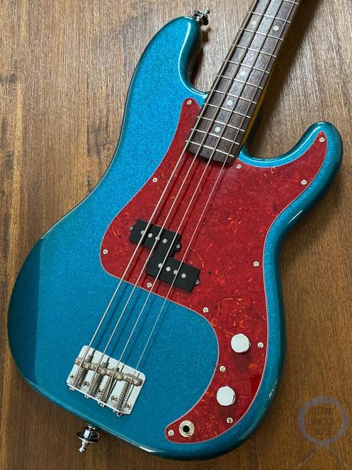 Fender Precision Bass, '62, RARE CUSTOM EDITION, Blue Sparkle, 1991