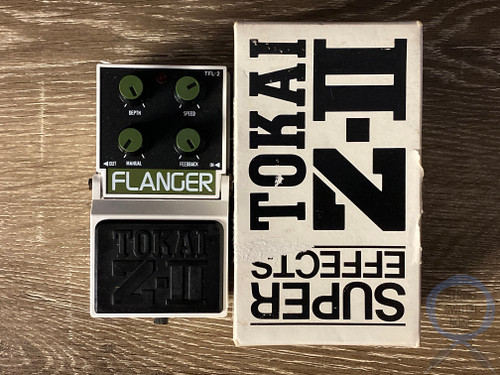 Tokai TFL-2, Flanger, Z-II Super Effects series, MIJ, 80s, Original Boxing
