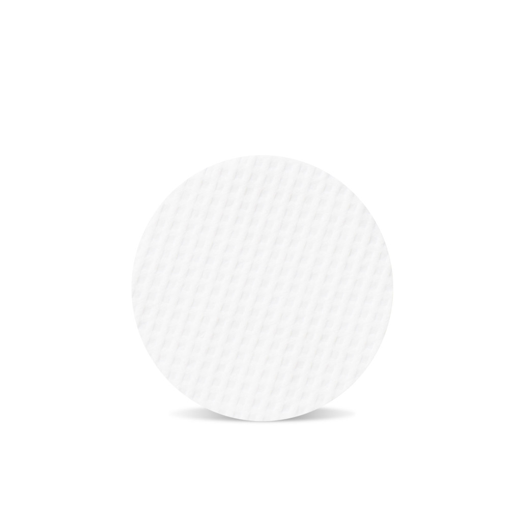 Eye Envy Applicator Pad with a gentle exfoliating texture