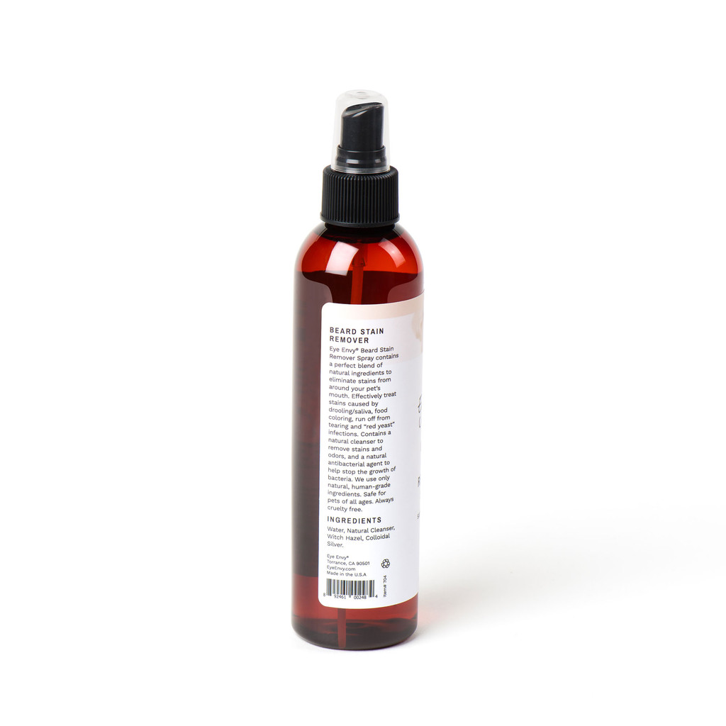 Eye Envy Beard Stain Remover Spray  - Ingredients