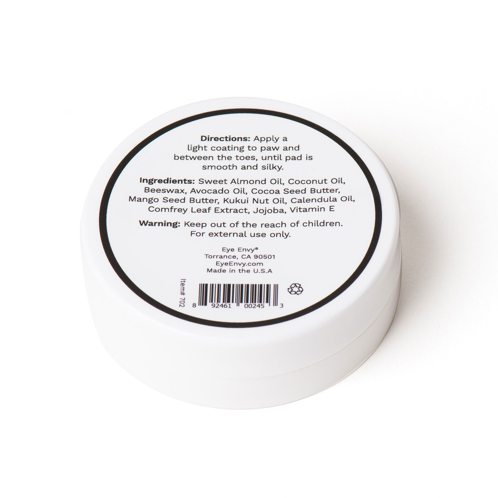 Eye Envy On the Paw Therapy Balm - Directions and ingredients