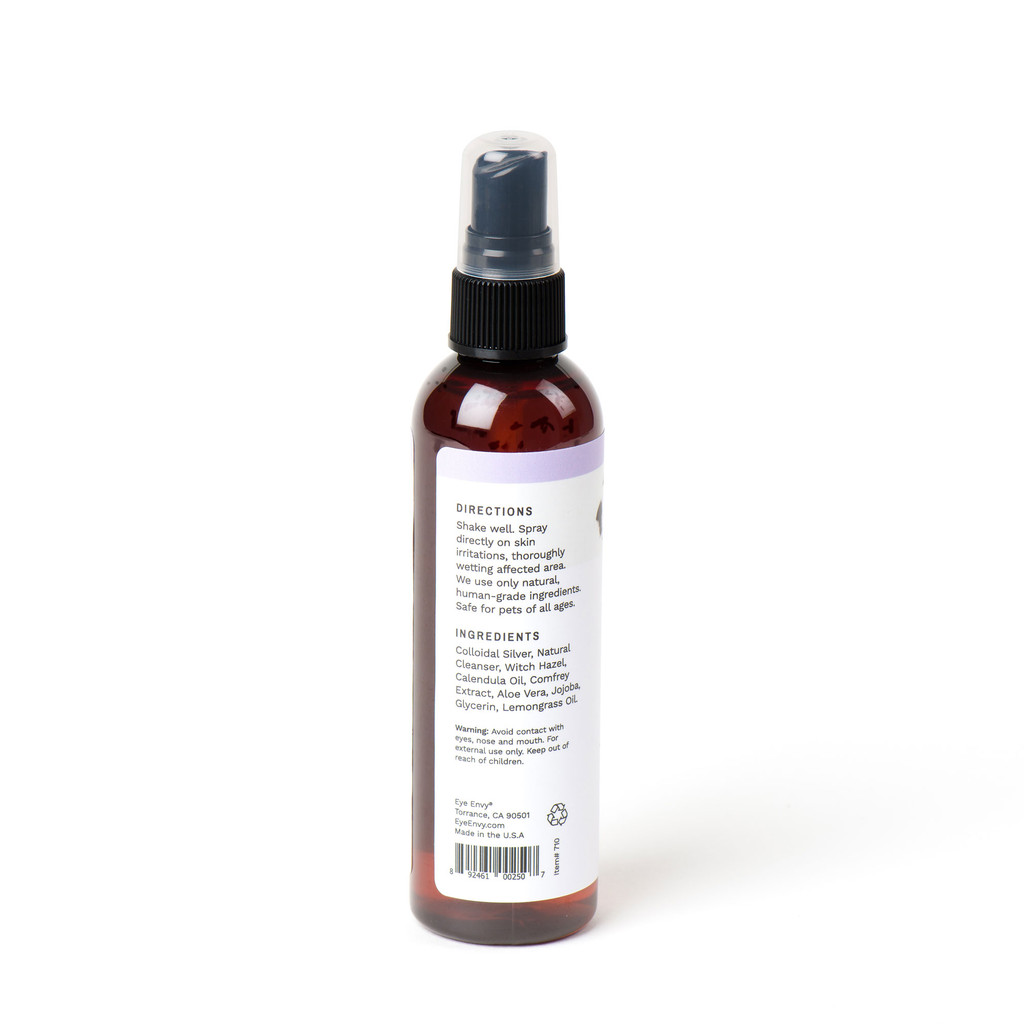Eye Envy On the Spot Healing and Itch Relief Spray - Directions and ingredients