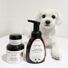 3 Step Tear Stain Kit for Dogs, ideal for Bichon and Bolognese dogs