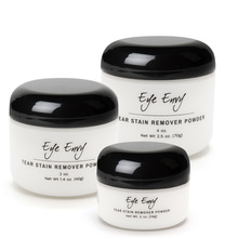 Eye Envy Tear Stain Powder for Cats and Dogs - available in 3 sizes