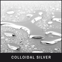 Colloidal Silver to help control the cause of the deep reddish-brown stains
