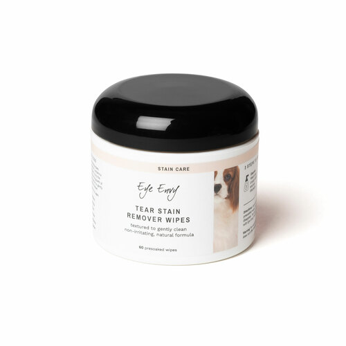 Eye Envy Tear Stain Remover Presoaked Wipes for Dogs
