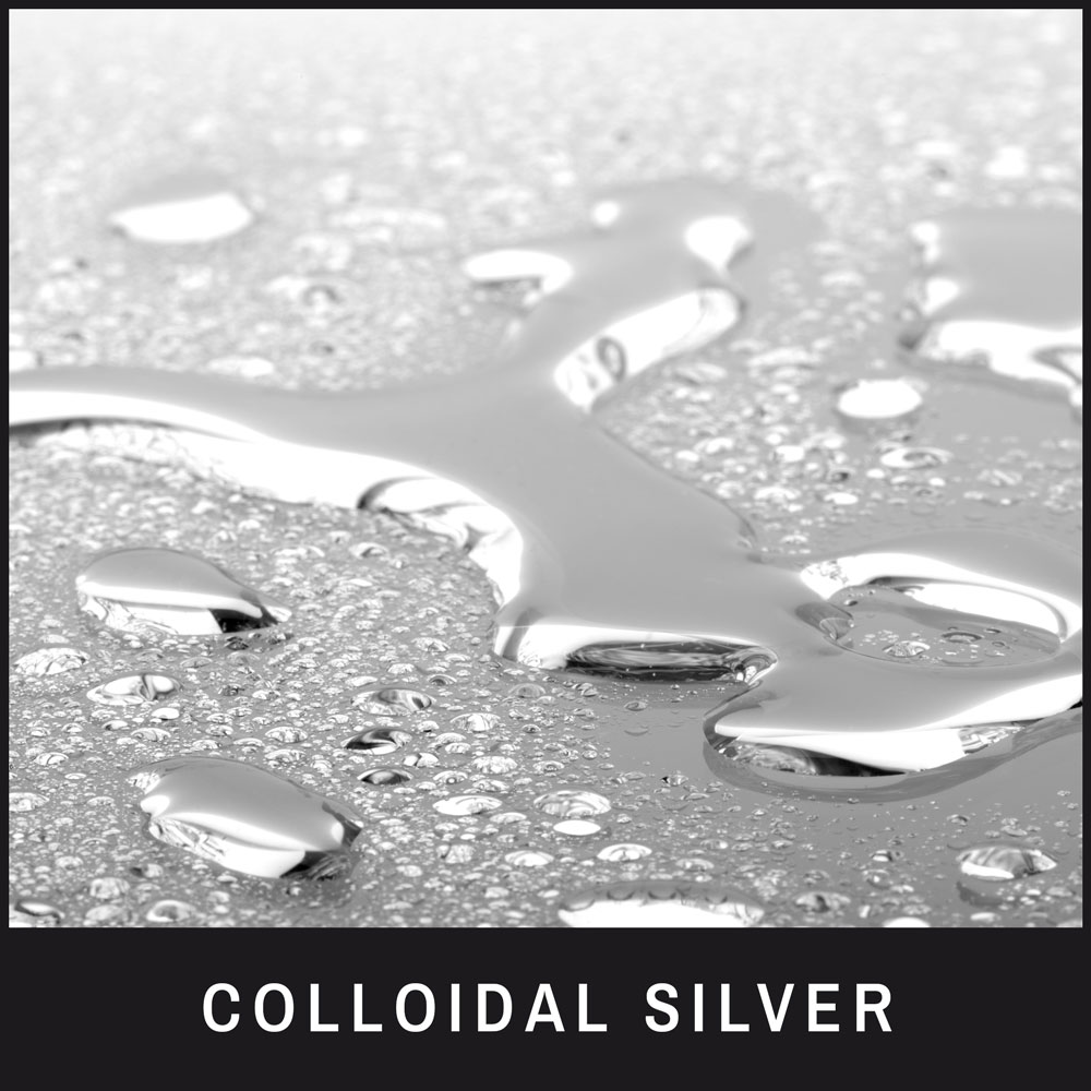 Colloidal Silver has antibacterial, antiviral properties