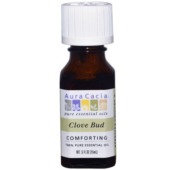Aura Cacia Clove Bud Oil, 15 ml