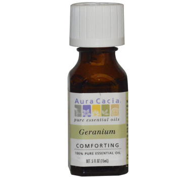 Aura Cacia Geranium Oil, 15 ml