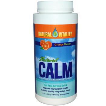 Natural Calm  Orange Flavour,226 g
