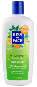 Kiss My Face, Whenever Conditioner, Green Tea & Lime, 11 fl oz (325 ml)