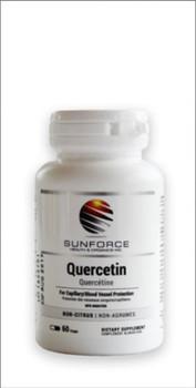 SunForce Quercetin, 60 Vcaps