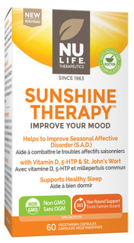 NuLife Sun Shine Therapy, 60 Vcaps