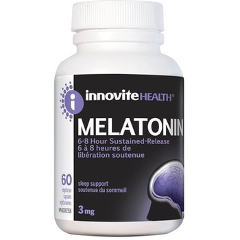 Innovite Health Melatonin Time Released, 3mg