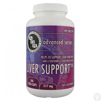 AOR Liver Support, 517mg 180caps
