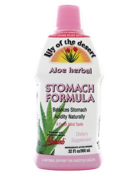 Lily of the Desert, Aloe Herbal Stomach Formula, 946 ML
