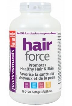 Prairie Naturals Hair Force Bonus 180+20