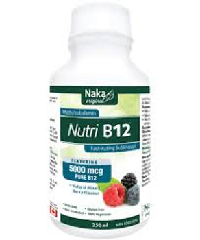 Naka Nutri B12 5000mcg Mixed Berry, 250ml