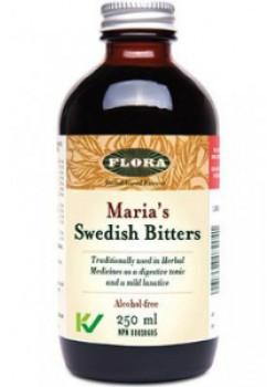 Flora Maria's Swedish Bitters, Alcohol Free 100ml