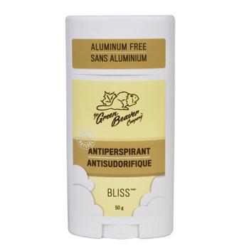 Green Beaver Antiperspirant Aluminum Free, BLISS 50g