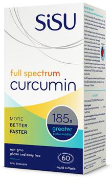 SISU Full Spectrum Curcumin, 60 Liq Soft Gels