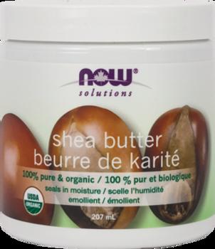 NOW Shea Butter 100% Pure & Organic, 207ml