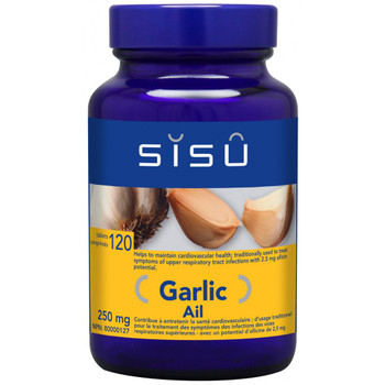 SISU Garlic 250mg, 120 Tablets