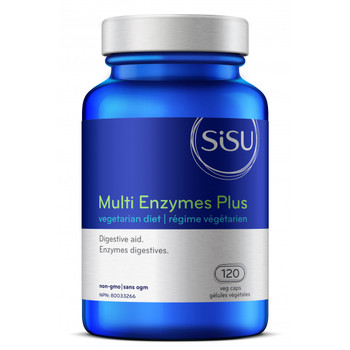 SISU Multi Enzymes Plus, 120 Veg Caps