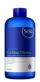 SISU Calcium & Magnesium Citrates with D3 Natural Blueberry Parfait, 450ml