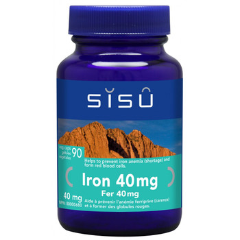 SISU Iron 40mg, 90 Veg Caps