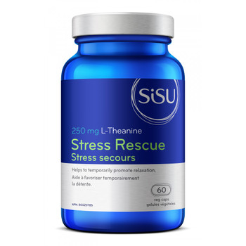 SISU Stress Rescue 250mg, 60 veg caps