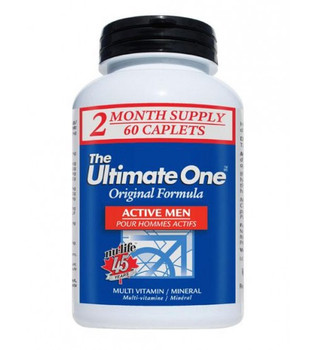 Nu-Life The Ultimate One Active Men Multivitamin 60 Caplets