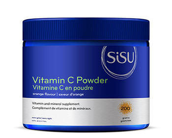 SISU Vitamin C Powder Orange Flavour, 200gm