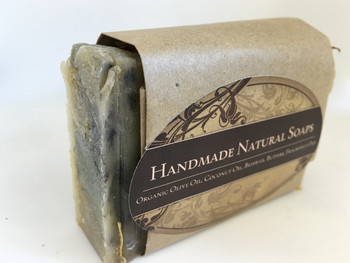 "Handmade Natural Soap "" Lemongrass"", 132G"